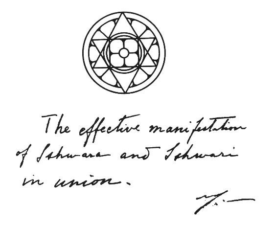 Significance Of The Symbol Of The Sri Aurobindo International Centre